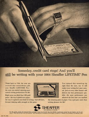 1964 credit card rings