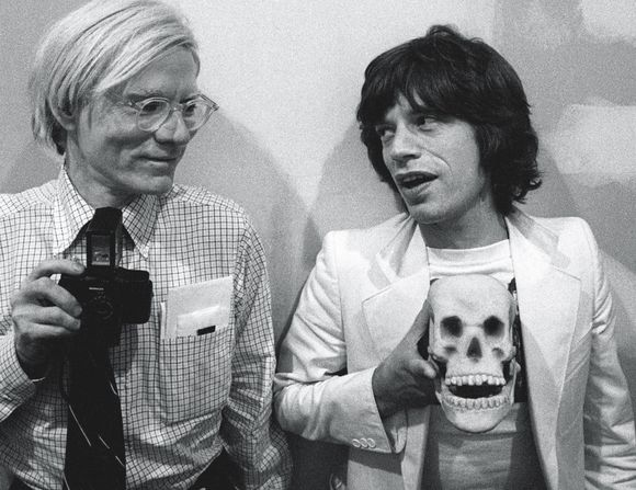 Warhol/Jagger+skull