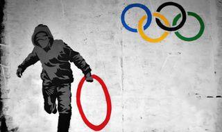 Olympics-graffiti-crimial-chalkist-bristol