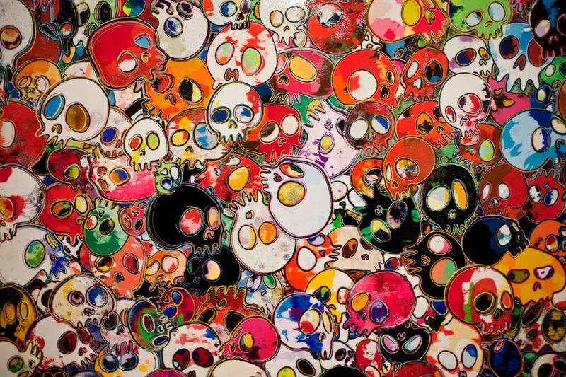 Takashi-murakami-flowers-amp-skulls-exhibition-gagosian-gallery-hong-kong-recap-8