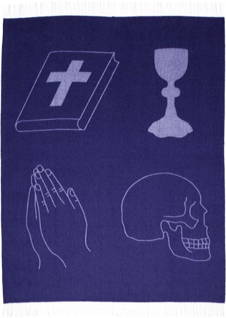 Damien-hirst-new-religion-blanket