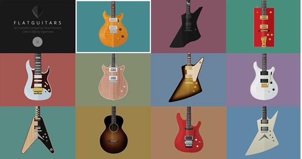 Flat-guitars